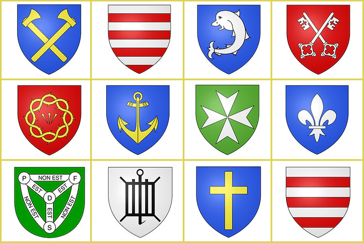 Jersey Parish Flags Channel Islands
