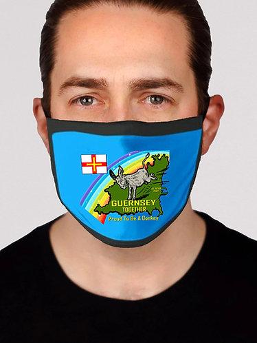 Face Masks Guernsey Together Pack of 3