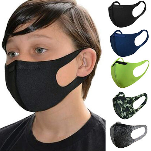 Face Mask Kids Size age 5-11 washable and reusable for Children