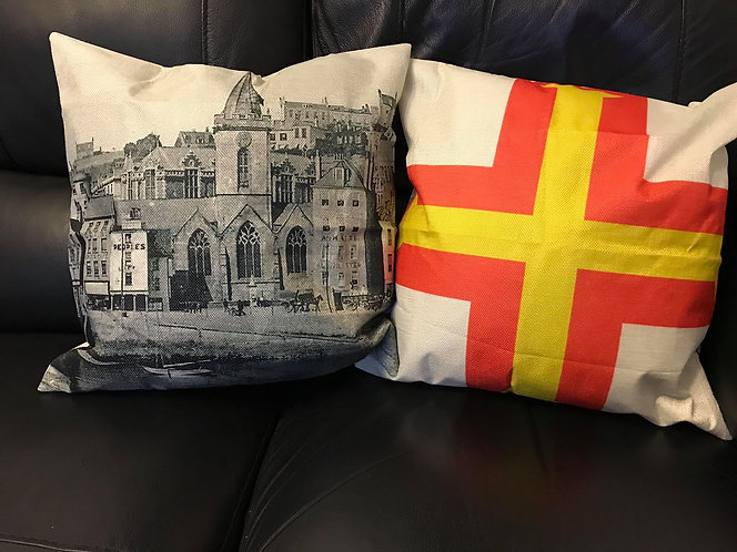 75th Liberation Guernsey Cushion Cover 9th May 1945
