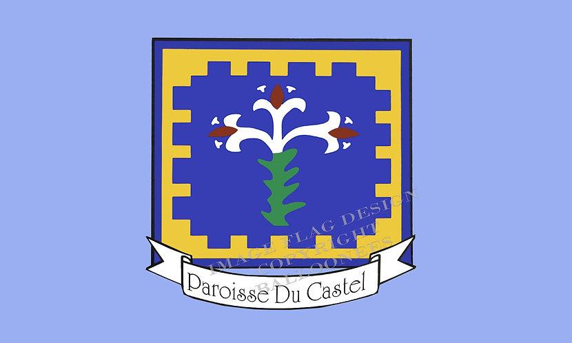 Guernsey Parish flag of Castel Channel Islands