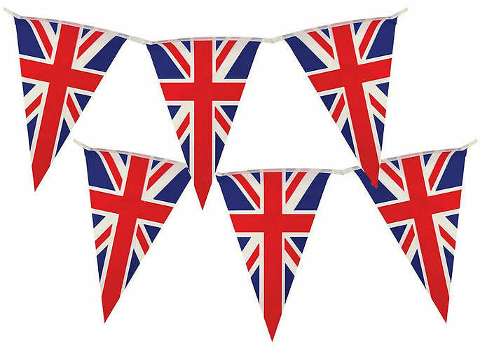 Union Jack UK Bunting and Pennants Various