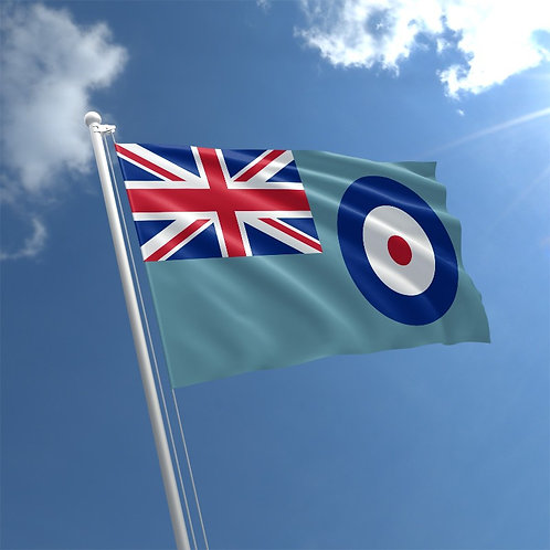 RAF Flag and RAF Bunting (Fabric 10 meter 20 flags)