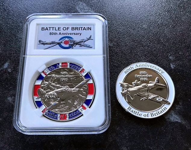 Battle of Britain Memento Coin 80th Anniversary RAF WHOLESALE PACK OF 25