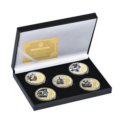Batman Presentation Collectors Coin Set of 5