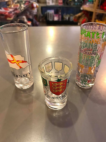 Liberation Day of Guernsey 9th May 1945 Shot Glass