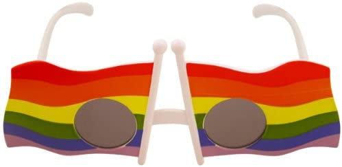 Rainbow Fun Sunglasses Fancy Dress LGBTQ Pride