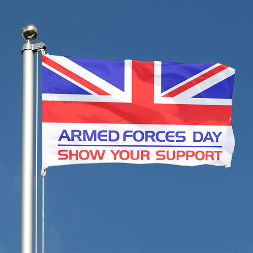 UK Armed Forces Day flags and buntings