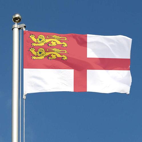 Channel Island Sark Flag