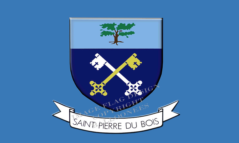 *BONUS ADD ON* - Guernsey Parish flag St Peters St Pierre Du Bois - (See Conditi
