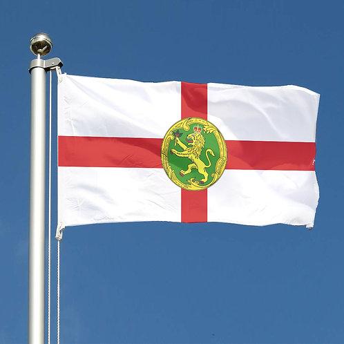 Channel Island Alderney Flag