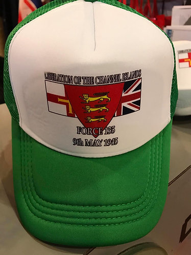 SALE ITEM - Force 135 liberation Guernsey Baseball Cap Hat Collectable