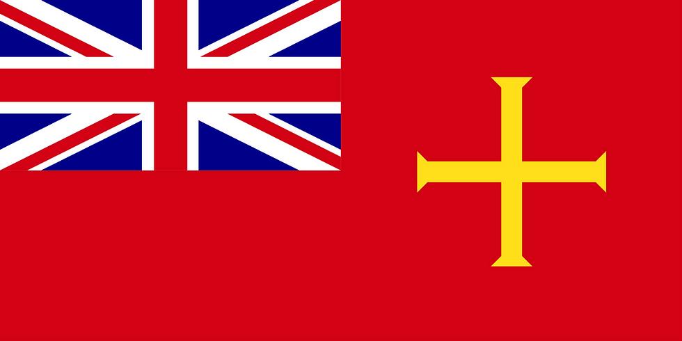 Guernsey Civil Ensign Flag - nautical maritime Flag