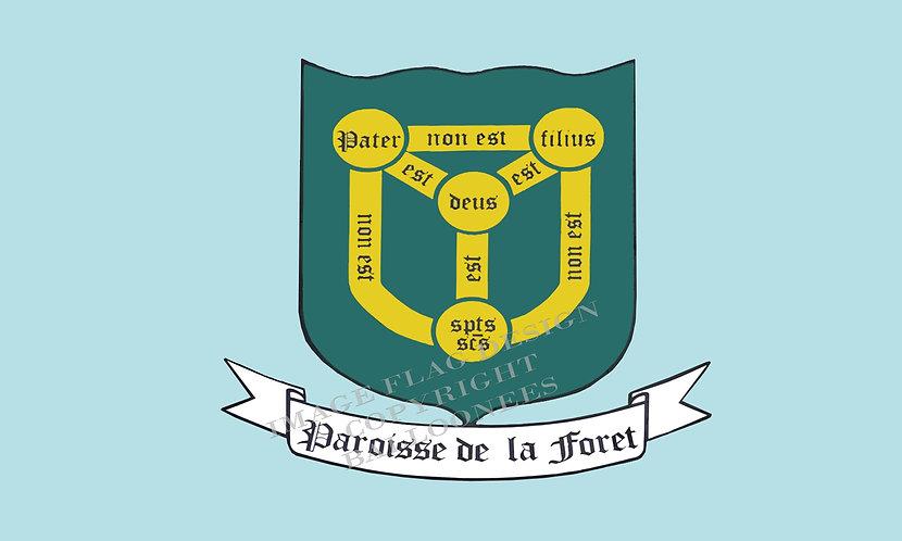 Guernsey Parish flag of Forest Channel Islands