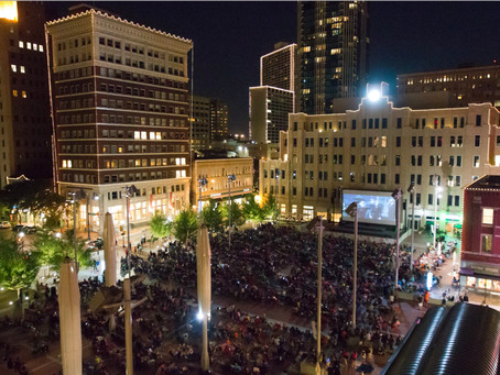 Summertime Fun: Movie Nights Returning To Fort Worth's Sundance Square