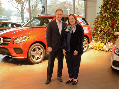 Park Place Motorcars donates Mercedes-Benz for Jewel Charity Ball