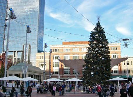 Sundance Square lights 56-foot Christmas tree