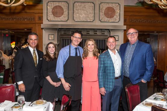 Fox 4 Steve Eager, Kathryn Copple, III Forks Proprietor Chris Vogelie, Mark Davis, Joy & Tait Cruse
