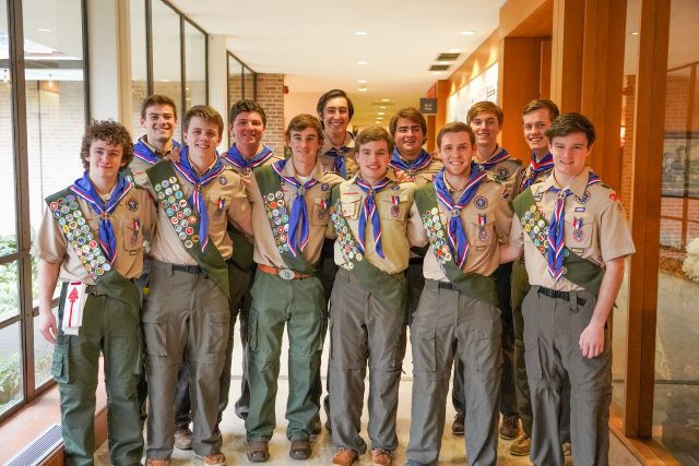 Eagle Scouts of Episcopal School of Dallas