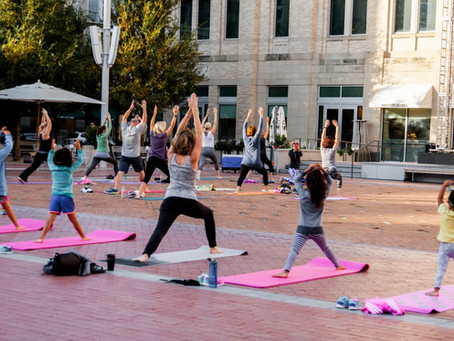 Free Yoga, Zumba Classes In Fort Worth's Sundance Square Are Back