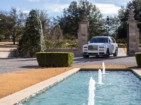 Rolls-Royce Cullinan Takes North Texas Highways by Storm
