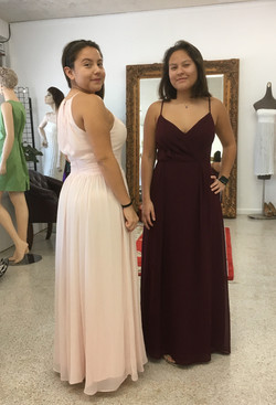 Two Gown Alterations