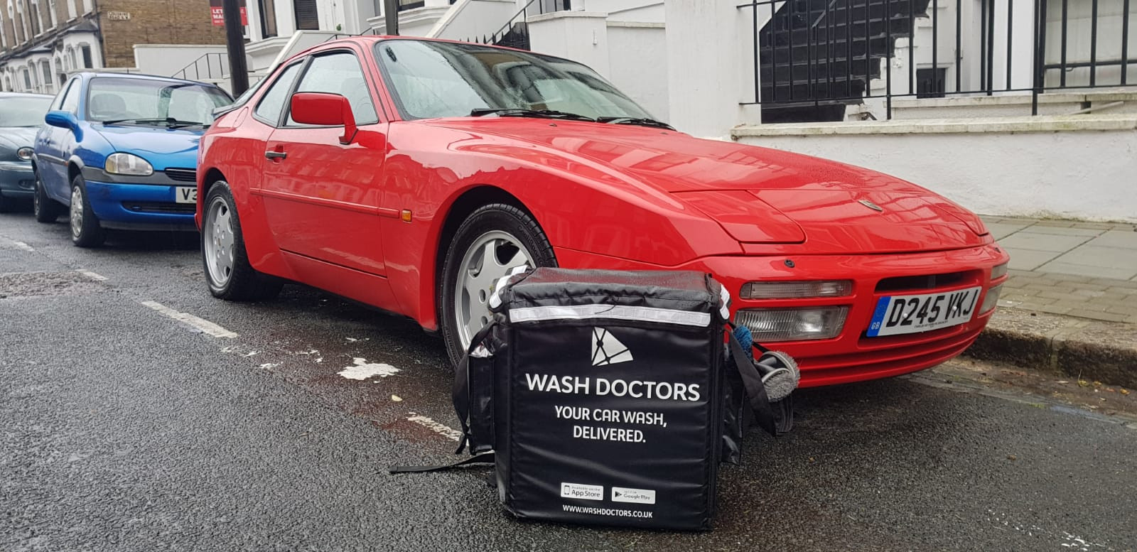 Wash Doctors clean car