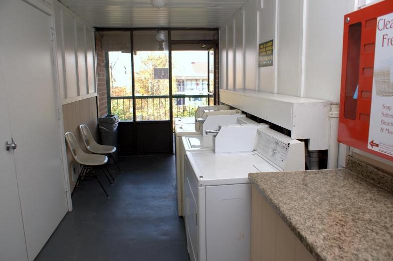 Guest Coin-Operated Laundry Room
