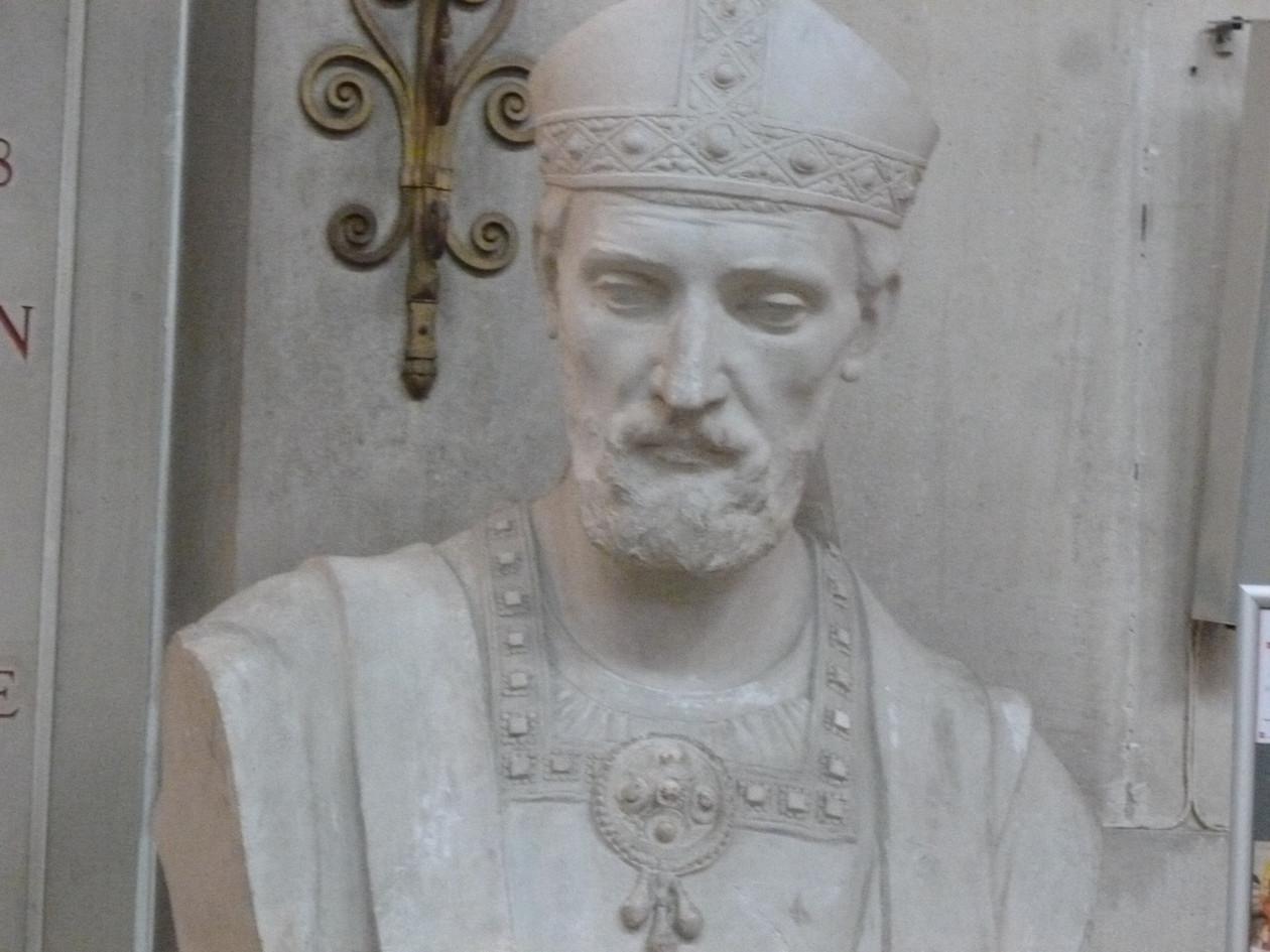 Buste Saint Martin de Tours