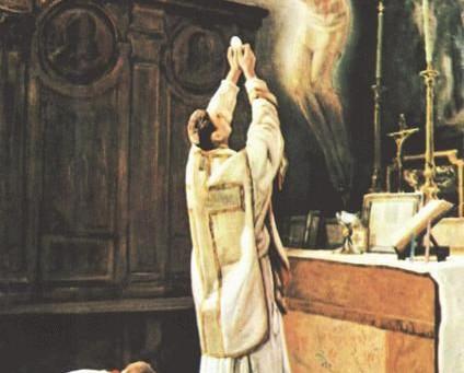 """""""Le Christ est au prêtre...                           le prêtre est au Christ"""""""