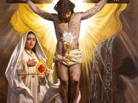 À votre pauvreté J'ai donné le Pain du Ciel...