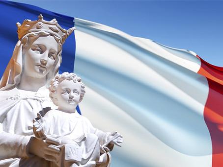 France fille aînée de l'Eglise...                          Rends Gloire à Dieu !