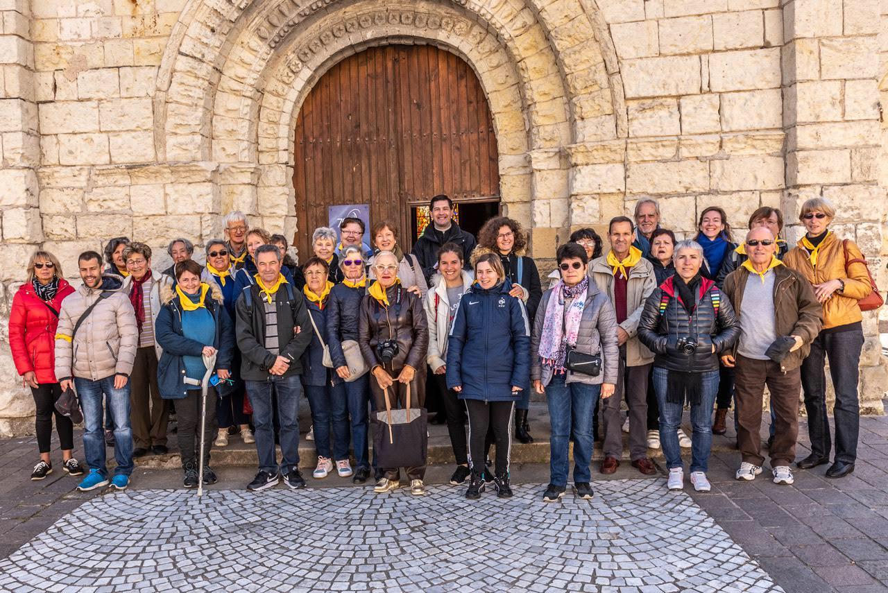 Groupe pèlerinage