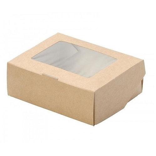Коробка ЭКО с окошком маленькая