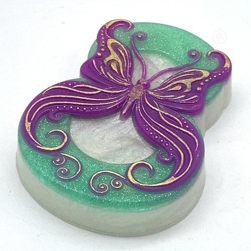 Бабочка завитушки