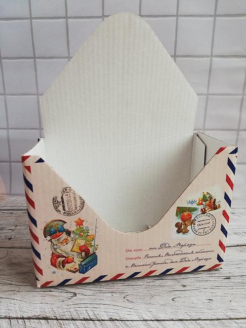 Конверт из картона Новогоднее письмо