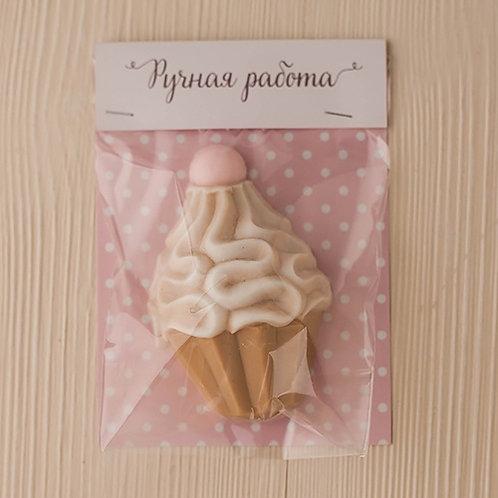 Клапан для пакета 'Розовый горошек'