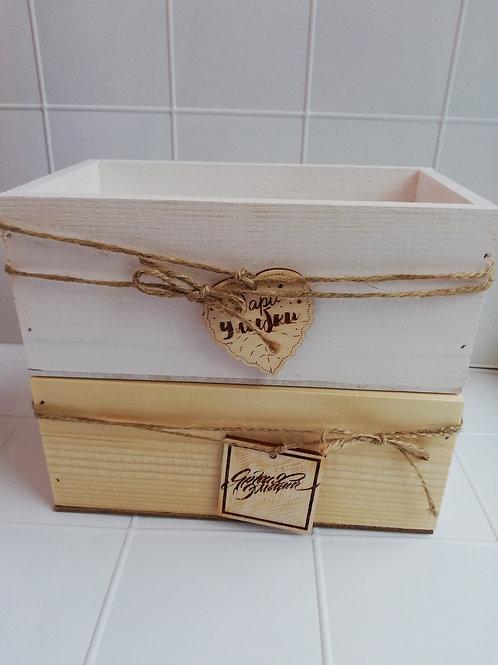 Ящик малый с шильдиком
