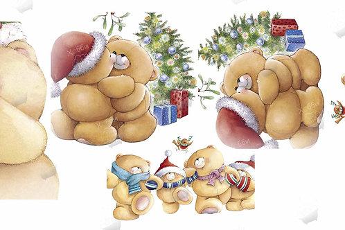 Новогодние мишки Тедди 2
