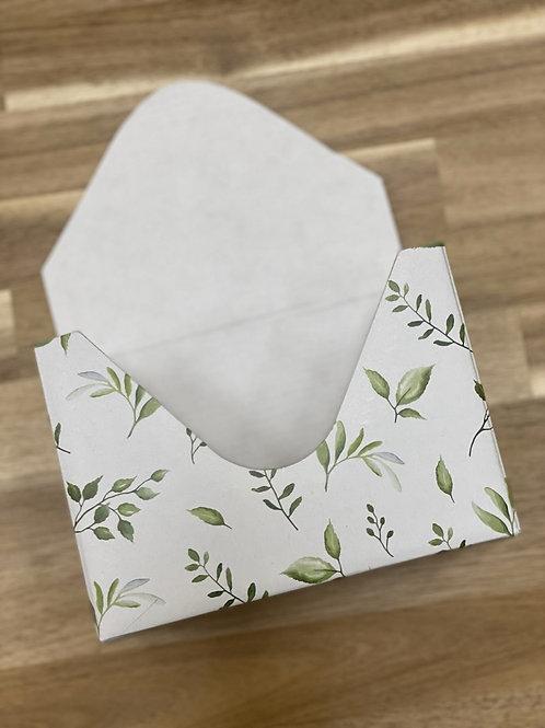 Кашпо-конверт 'Зеленая листва'