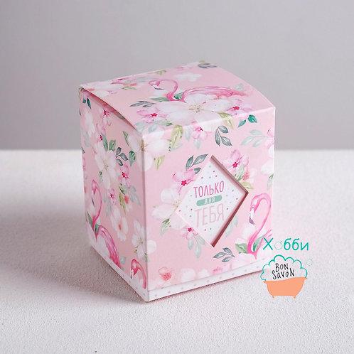 Коробочка Бонбоньерка «Фламинго»