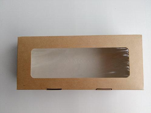 Коробка ЭКО с окошком средняя