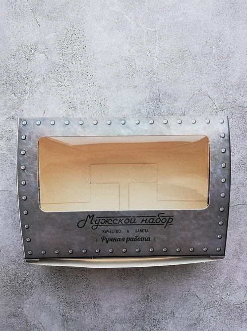 Коробка с окошком Мужской набор