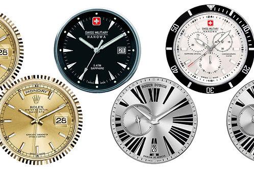 Часы металлический ремешок 2