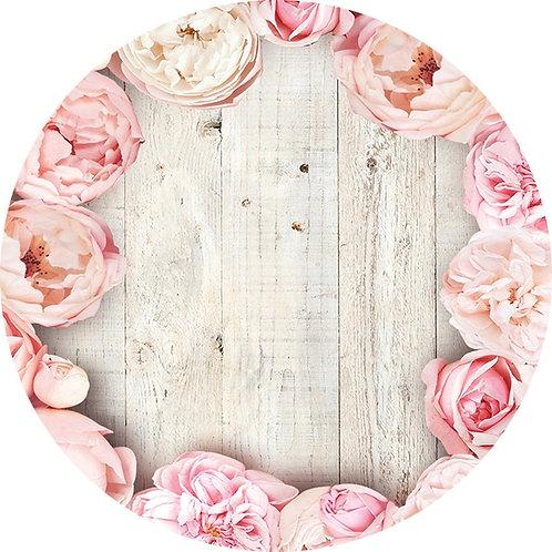 Вкладыш для купола 'Розовые цветы'