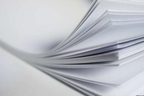 Водорастворимая бумага, 1 лист