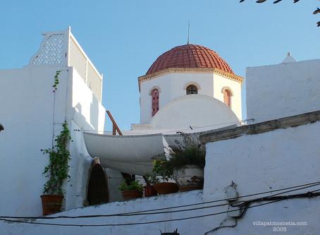 Chora Patmos Greece