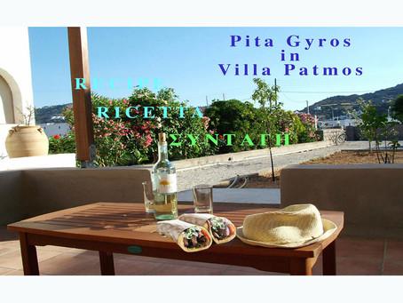 Ricetta Pita Gyros - Prepara facilmente il Pita Gyros di maiale fatto in casa.