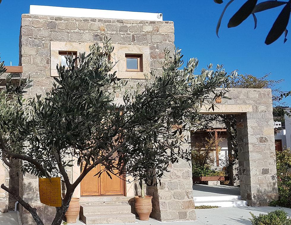 House Petra Villa Patmos Netia House rent