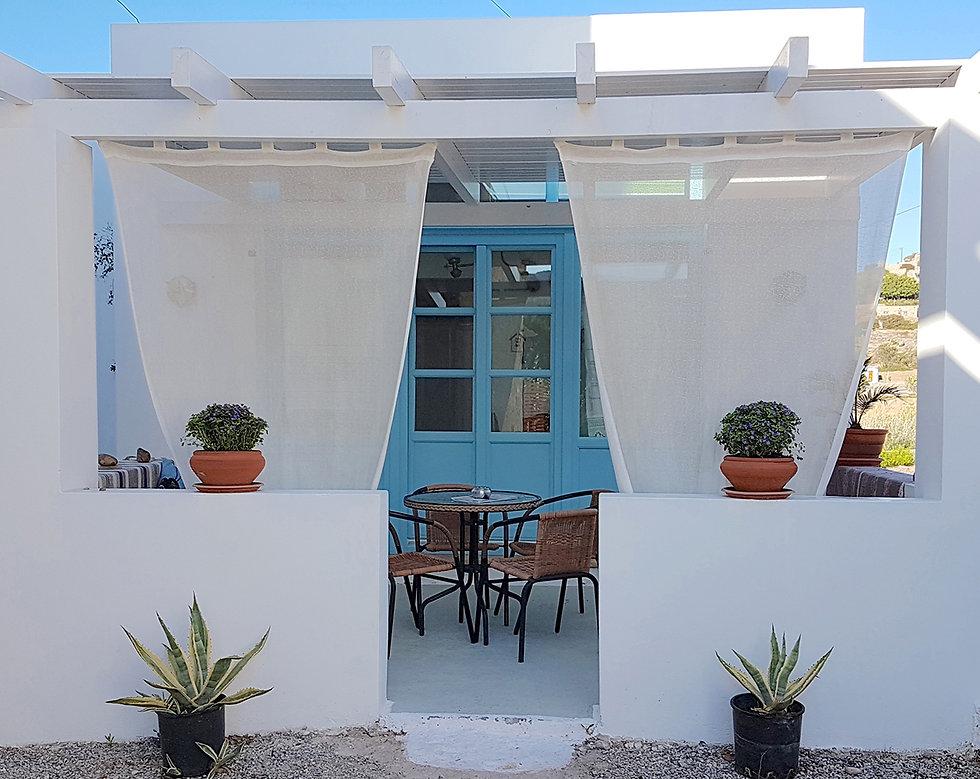 House Aspri Villa Patmos Netia House rent